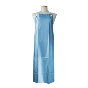 防水エプロン #6300 リバーブルー 85×110cm