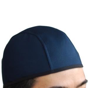 吸汗インナ−帽 紺