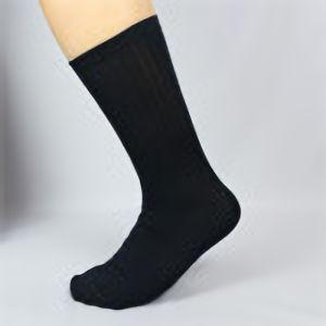 のびのび靴下 先丸 紺 FT−1105 4足組
