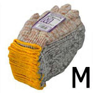 作業手袋 MIX軍手 M 12双入