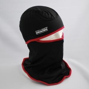 防寒 ヒートフェイスマスク ブラック/レッド FT−561