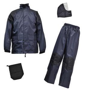 雨衣 クリティカルハード F−8300 ネイビー S