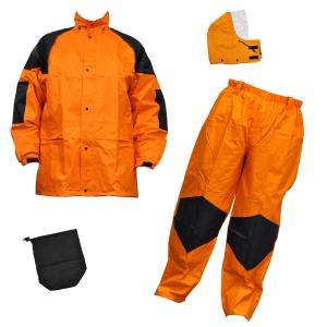 雨衣 クリティカルハード F−8300 オレンジ S