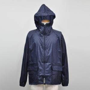 雨衣 前開きヤッケ 上 F−890 ネイビー M