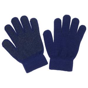 のびのび手袋 スベリ止め付 FT−3130 紺
