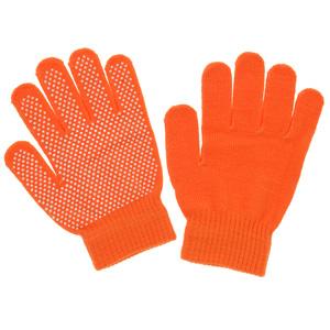のびのび手袋 スベリ止め付 FT−3130 オレンジ
