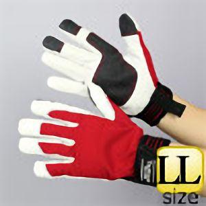 作業手袋 A級 豚甲メリマジック TVC−301 赤 LL