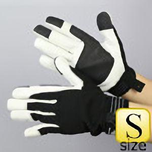 作業手袋 A級 豚甲メリマジック TVC−301 黒 S