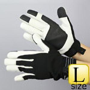 作業手袋 A級 豚甲メリマジック TVC−301 黒 L