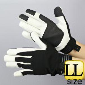 作業手袋 A級 豚甲メリマジック TVC−301 黒 LL