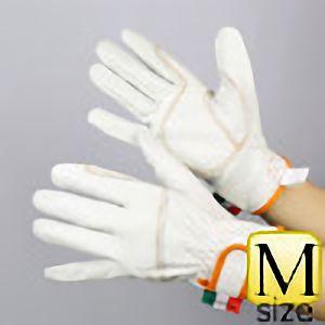 作業手袋 A級 牛クレ レンジャー TVC−401 白 M