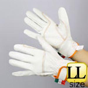 作業手袋 A級 牛クレ レンジャー TVC−401 白 LL