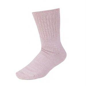 女性用裏シルク靴下 先丸 3足組 モクピンク SS−309−3P
