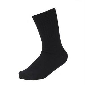 男の裏シルク靴下 先丸 3足組 ブラック SS−307−3P