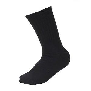 丈夫な靴下 先丸 黒 3足組 SS−314−3P