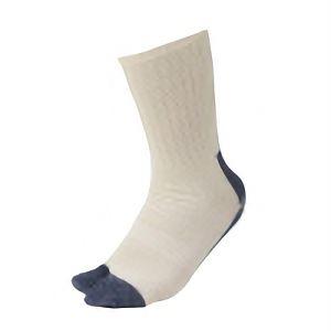 鬼底靴下 生成×紺 指付 4足組 SS−342−4P