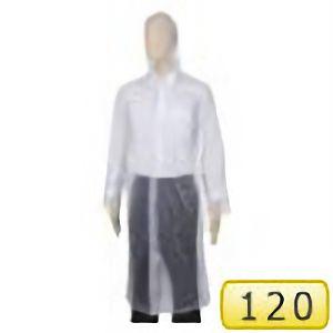 レインウェア ポケットコート #100 クリアー サイズ120