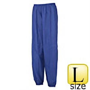 レインウェア ナイロン裾ゴムズボン #501 ブルー L