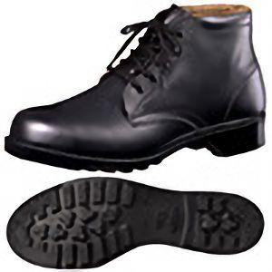 【在庫限り】 JIS規格 ゴム1層底 中編上 安全靴