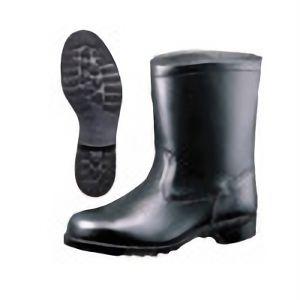 【在庫限り】 JIS規格 ゴム1層底 半長靴 安全靴