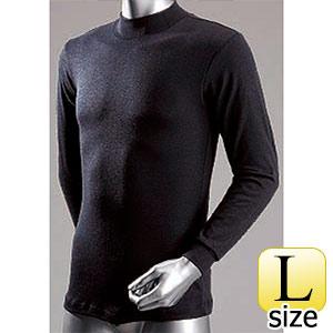 防寒 サーモハイネックシャツ (黒/Lサイズ) WT−212−2
