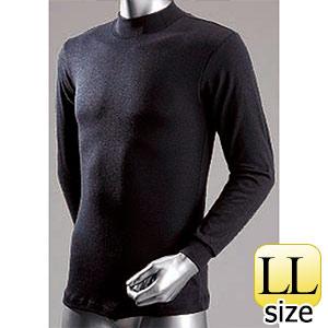 防寒 サーモハイネックシャツ (黒/LLサイズ) WT−212−3