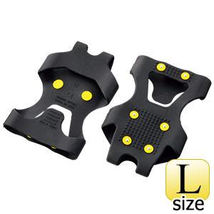 靴用スパイク ワンタッチ滑り止 WT−731−L ブラック L
