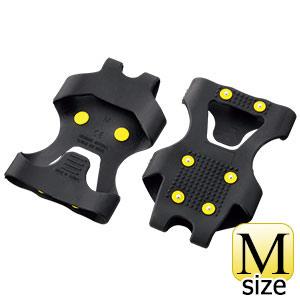 靴用スパイク ワンタッチ滑り止 WT−731−M ブラック M